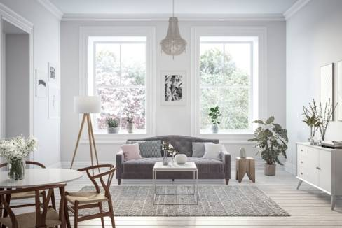 שטחים יפים לסלון הבית